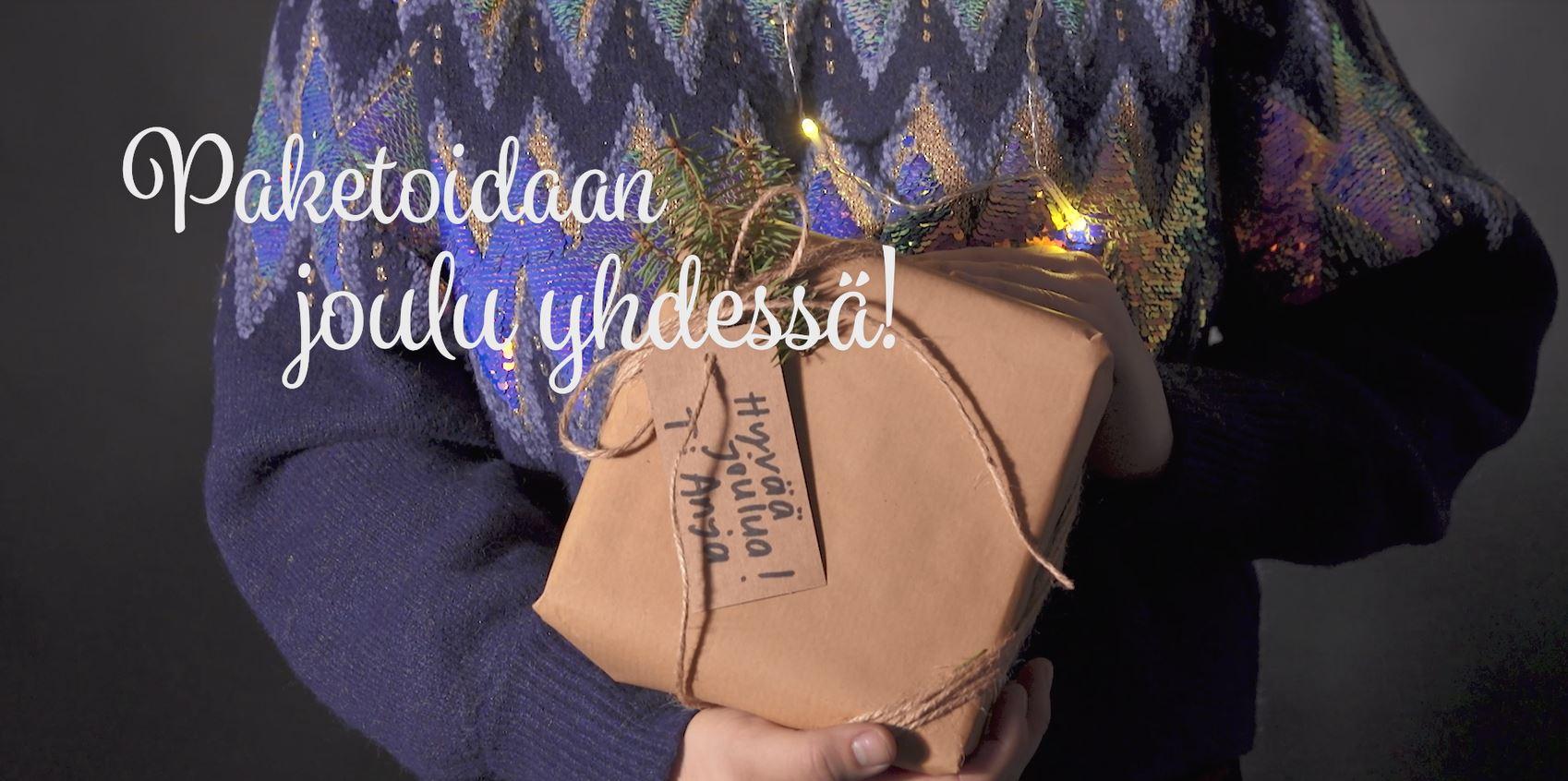 Anjan askeleet jouluun: Ihastuta persoonallisilla lahjapaketeilla!