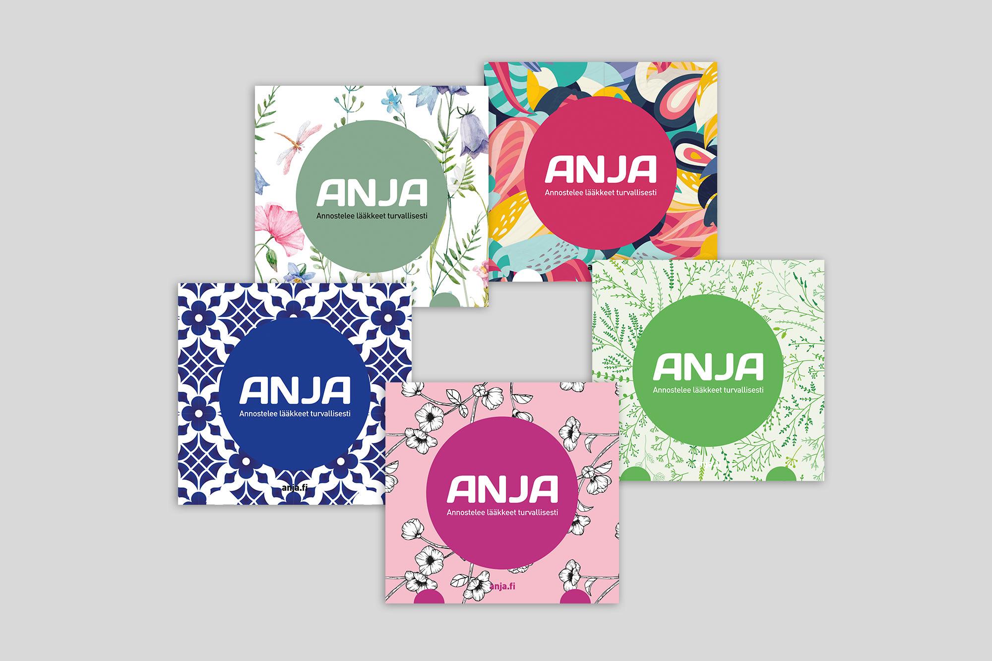 Mikä uusista Anja-laatikoista on suosikkisi? Kerro ja voita Marimekon kangaskassi!