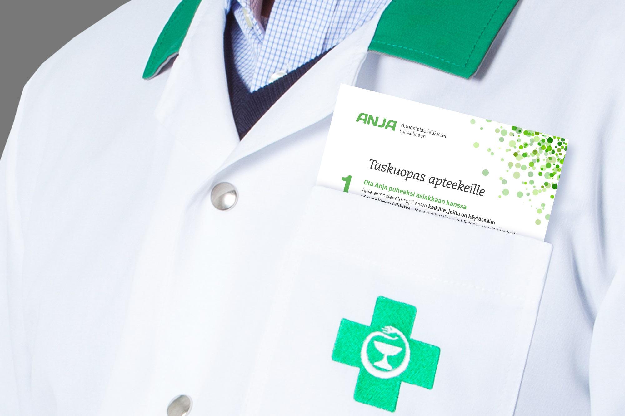 Näin saat asiakkaallesi lääkitysturvallisuutta lisäävän Anja-annosjakelupalvelun